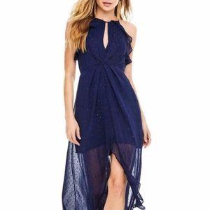 Astr Dresses - NEW ASTR the LABEL SPARKLE NAVY Arielle MAXI DRESS